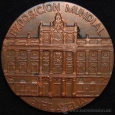 Medallas temáticas: MEDALLA EXPOSICION MUNDIAL DE FILATELIA 1.984. Lote 40898709