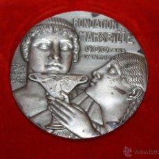 Medallas temáticas: MEDALLA DE CONMEMORACION DE 600 AÑOS DE AVANCE ASOCIACION MARSELLESA FRANCIA. Lote 41204853