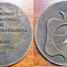Medallas temáticas: GRANADA (1983) MEDICINA: MEDALLA IV CONGRESO INTERNACIONAL CIRUGIA DERMATOLOGICA. Lote 41234251