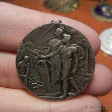 Medallas temáticas: MEDALLA PLATA. SOLIDARIDAD CATALANA. 1906.. Lote 41268554