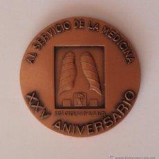 Medallas temáticas: MEDALLA DE FRIDESA XXV ANIVERSARIO COBRE 50MM. Lote 41413913