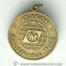 Medallas temáticas: ANTIGUA MEDALLA DE MELIÁ. Lote 41430805