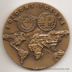 Medallas temáticas: POLONIA. FERIA INTERNACIONAL DE POZNAN 1988. Lote 41550063