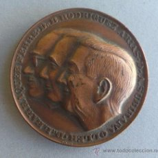 Medallas temáticas: MEDALLA SOCIEDAD ESPAÑOLA NEUROLOGIA - MEDICOS - RODRIGUEZ ARIAS -SUBIRANA OLLER -BARRAQUER. Lote 41583362
