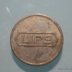 Medallas temáticas: MONEDA HOLANDESA. ANVERSO LIPS. REVERSO LIPS DORDRECHT. Lote 41969197