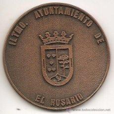 Medallas temáticas: AYUNTAMIENTO DE EL ROSARIO. 1995. Lote 42317835