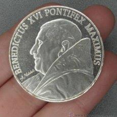 Medallas temáticas: MEDALLA BENEDICTUS XVI POTÍFICE MÁXIMO REVERSO ROMA VATICANO ENCAPSULADA BENEDICTO XVI. Lote 181780201