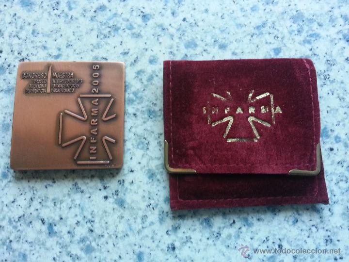 Medallas temáticas: Medalla INFARMA 2005 - Pujol - Foto 2 - 39764080