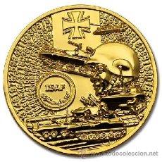 Medallas temáticas: MONEDA ORO 24K MILITARES ALEMANES EN COMBATE - ISAF -. Lote 54750468