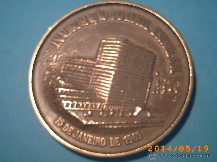 Medallas temáticas: MEDALLA INAUGURAÇÂO DO HOTEL ESTORIL-SOL -PORTUGAL - 15 JANEIRO 1965 - EN BRONCE- - Foto 3 - 43412523