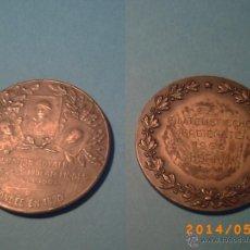 Medallas temáticas: MEDALLA DE LA FEDERATION ROYALE DES CERCLES PHILATELIQUES DE BELGIQUE-FONDÉE EN 1890-PLATA 950 -. Lote 43414987