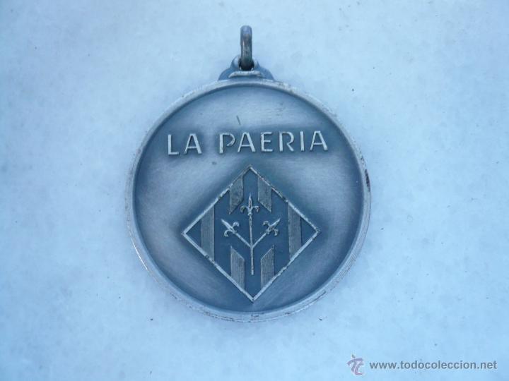 MEDALLA METÁLICA LA PAERIA, AJUNTAMENT DE LLEIDA (Numismática - Medallería - Temática)