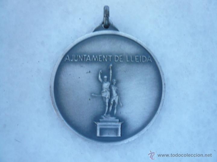 Medallas temáticas: MEDALLA METÁLICA LA PAERIA, AJUNTAMENT DE LLEIDA - Foto 2 - 43446158