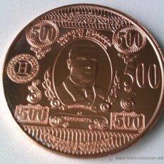 Medallas temáticas: MONEDA DE COBRE PURO 999 U.S.A 500$ MC KINLEY GRANDE SIN CIRCULAR COPPER COIN. Lote 59460981