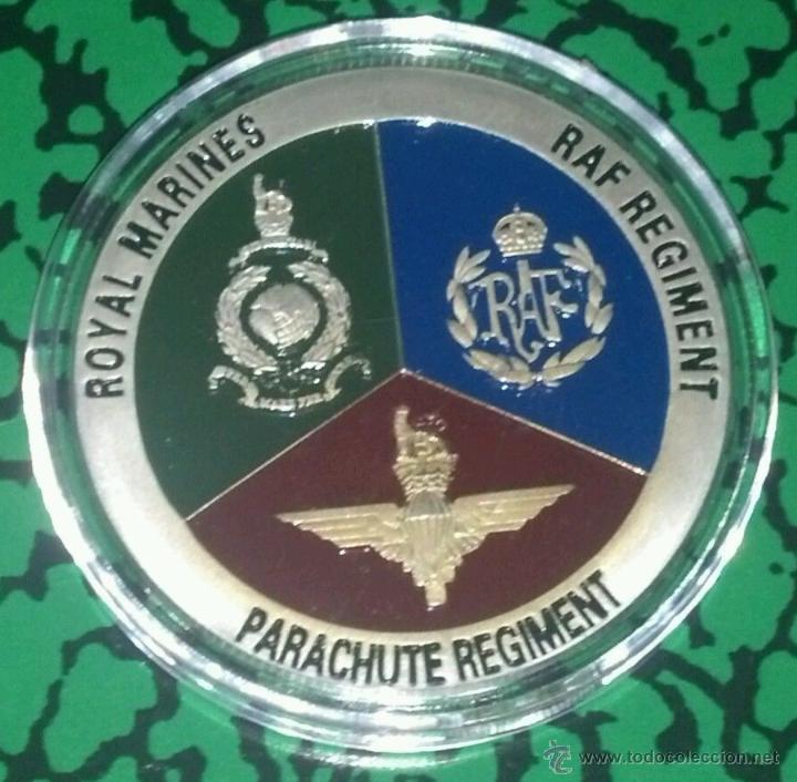 Medallas temáticas: MONEDA PLATA UNITED STATES OF AMERICA U.S.A DE LAS FUERZAS ESPECIALES - Foto 2 - 95334000