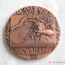 Medallas temáticas: CINCUENTENARIO 1932-1982 ASOCIACION ATLETICA AVILESINA. Lote 43662649