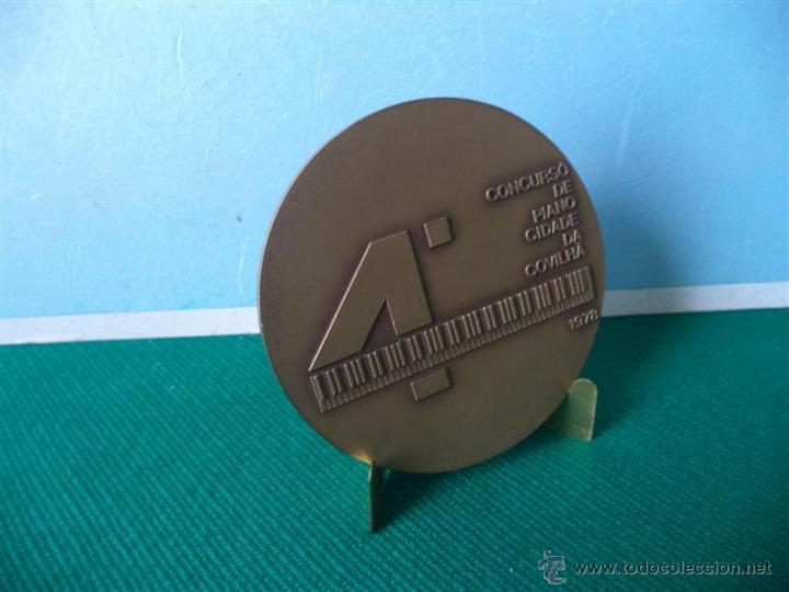 Medallas temáticas: medalla escudo de bronce - Foto 2 - 43749769