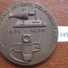 Medallas temáticas: MEDALLA COMPAÑIA TELEFONICA NACIONAL DE ESPAÑA 1976. Lote 43775900