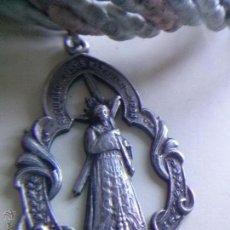 Medallas temáticas: MEDALLA DE PLATA CON CORDON JESUS NAZARENO DE URDA( TOLEDO). Lote 211605231