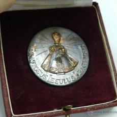 Medallas temáticas: MEDALLA ECCLESIA BEATAE MARIAE VIRGINIS DE VICTORIA, GRATIOSUS JESULUS PRAGENSIS, EN SU CAJA ORIGINA. Lote 44067191