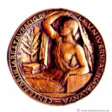 Medallas temáticas: GUERRA CIVIL ESPAÑOLA,MEDALLA AÑO 1937 100 ANIVERSARIO RESTAURACION UNIVERSIDAD CATALUÑA,REPUBLICA. Lote 44102911