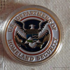 Medallas temáticas: MONEDA CONMEMORATIVA DE US DEPARTMENT OF HOMELAND SECURITY. Lote 44398246