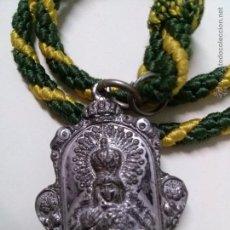 Medallas temáticas: MEDALLA CON CORDON DE NUESTRA SEÑORA DE LA ESPERANZA MACARENA SEMANA SANTA DE SEVILLA. Lote 51225141
