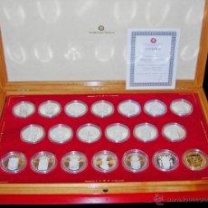 Medallas temáticas: MEDALLAS. SERIE LIMITADA AUTONOMÍAS ESPAÑOLAS. ACUÑACIONES IBÉRICAS. INTERESANTE. Lote 45006832