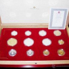 Medallas temáticas: MEDALLAS. SERIE LIMITADA HISTORIA DE LA MONEDA ESPAÑOLA. ACUÑACIONES IBÉRICAS. MUY INTERESANTE. Lote 45007006