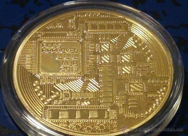 Medallas temáticas: MONEDA ORO 24KT U.S.A BITCOIN CALIDAD PROOF EN SU CAPSULA PROTECTORA - Foto 2 - 126418095