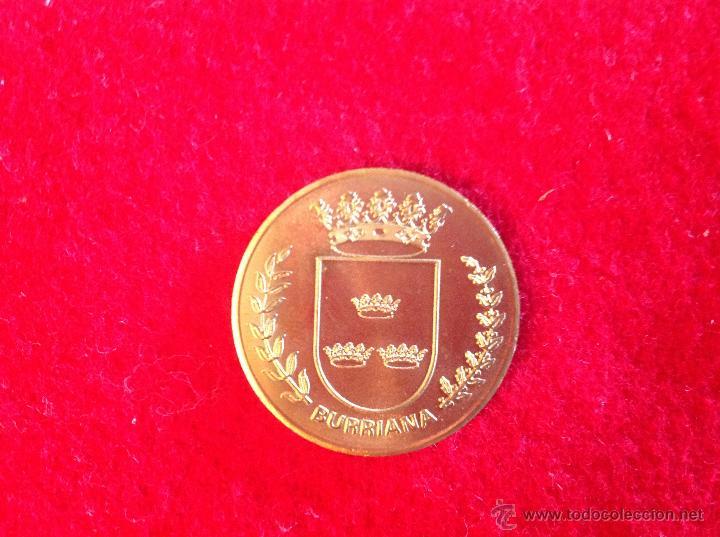 MEDALLA DE BURRIANA, 3 CM. NUEVA, PERFECTA (Numismática - Medallería - Temática)