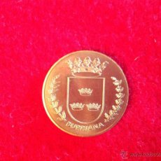 Medallas temáticas: MEDALLA DE BURRIANA, 3 CM. NUEVA, PERFECTA. Lote 45460758