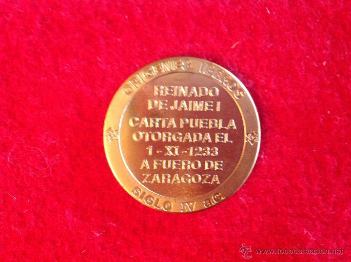Medallas temáticas: Medalla de Burriana, 3 cm. Nueva, perfecta - Foto 2 - 45460758
