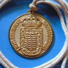 Medallas temáticas: MEDALLA MEDALLÓN DEL EXCELENTÍSIMO AYUNTAMIENTO DE JEREZ DE LA FRONTERA, CÁDIZ. AÑO 1976. Lote 45547323