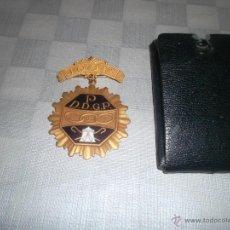 Medallas temáticas: MEDALLA MAZONICA ESMALTADA. Lote 45561475
