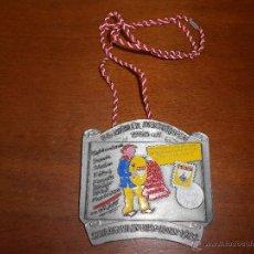 Medallas temáticas: GRAN MEDALLA METÁLICA DEL CARNAVAL, ALEMANIA 1982, 9 X 9 CM.. Lote 45650332