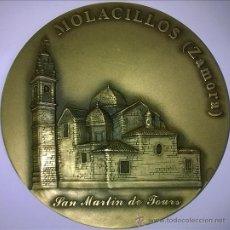 Medallas temáticas: MEDALLA LOTERÍA DEL HUMOR. BRONCE. CENTENO. MOLACILLOS, ZAMORA. Lote 46080824