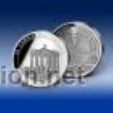 Medallas temáticas: ALEMANIA - MONEDA CONMEMORATIVA - PROOF - 20 AÑOS CAÍDA DEL MURO DE BERLIN EN ALEMANIA. Lote 46093716
