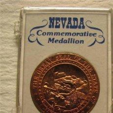 Medallas temáticas: PRECIOSA MONEDA MEDALLA CONMEMORATIVA DEL MUSEO ESTATAL DE NEVADA USA ESTADOS UNIDOS EN SU BLISTER . Lote 46098886