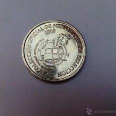 Medallas temáticas: MEDALLAS DE LA SELECCIÓN AÑO 2000. Lote 46384017