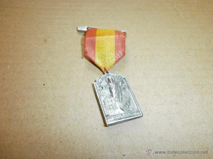 MEDALLA RELIGIOSA REINARE EN ESPAÑA SANTUARIO NACIONAL VALLADOLID (Numismática - Medallería - Temática)