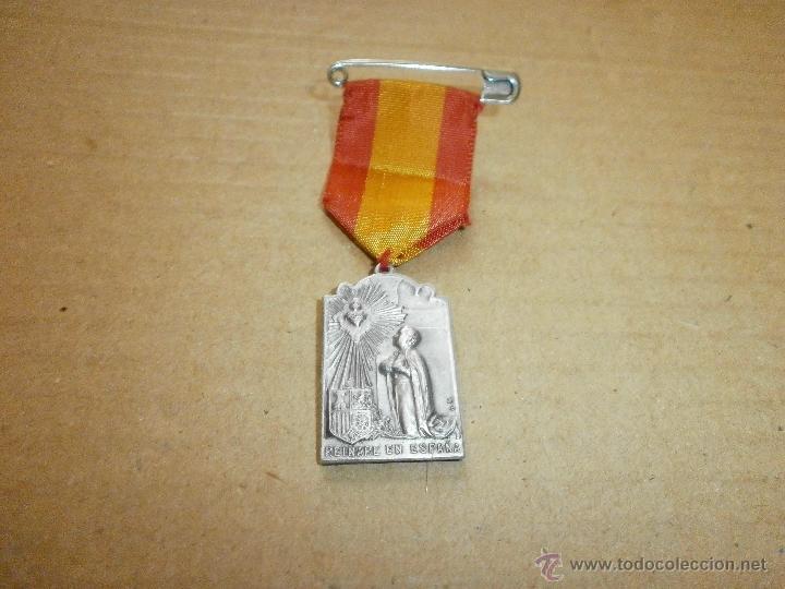 Medallas temáticas: medalla religiosa reinare en españa santuario nacional valladolid - Foto 2 - 46525589