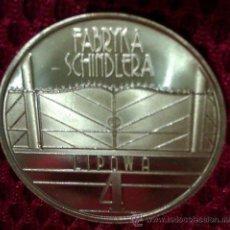 Medallas temáticas: INTERESANTE MONEDA FABRICA DE SCHINDLER PROCEDE DEL MUSEO DE POLONIA EN KRAKOWA EDICION LIMITADA. Lote 51555030