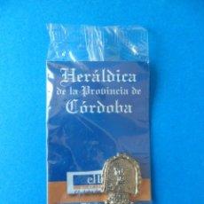 Medallas temáticas: INSIGNIA O MEDALLITA COLECCIONABLE - HERÁLDICA DE LA PROVINCIA DE CORDOBA - NUEVO PRECINTADO. Lote 47150015