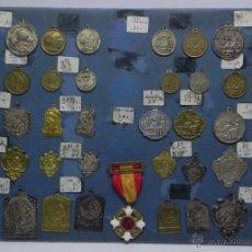 Medallas temáticas: MUESTRARIO DE MEDALLAS DE COLEGIO, ESCUELA, PREMIO A LA APLICACION, PREMIO AL MERITO, EN TOTAL HAY 4. Lote 47319709