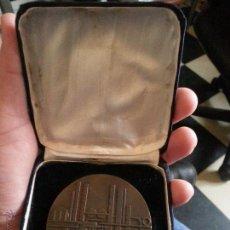 Medallas temáticas: GRAN MEDALLA , 25 ANIVERSARIO REFINERIA DE PETROLEO DE ESCOMBRERAS S.A 1949 1974 BRONCE 6 CM GRUESA. Lote 47531969