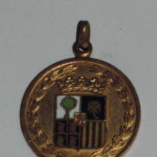 Medallas temáticas: MEDALLA DEL CIRCULO DE ARAGON, 60 ANIVERSARIO, 1915 JULIO 1975, MIDE 3,1 CMS DE DIAMETRO.. Lote 47890119