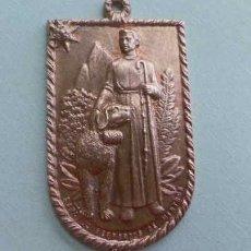 Medallas temáticas: MAGNIFICA Y RARA MEDALLA - DE COBRE C. F. S. BERNAT DE MENTHON . Lote 48479759