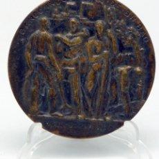 Medallas temáticas: MEDALLA BANCO INDUSTRIAL DE BILBAO TRADICIÓN PROGRESO 107 AÑOS SERVICIO ECONOMÍA ESPAÑOLA 1857 1964. Lote 48492427
