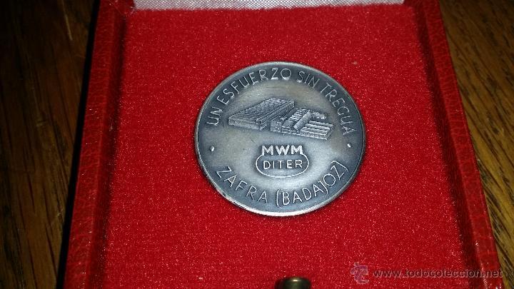 Medallas temáticas: MEDALLA EN PLATA DE LEY,ZAFRA BADAJOZ - Foto 2 - 48702823
